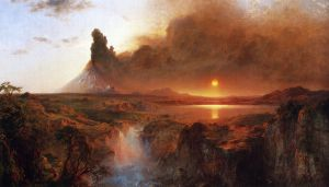Cotopaxi IV - Frederic Edwin Church Oil Painting
