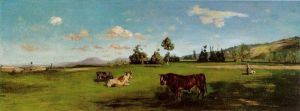 Saint-Saveur - Jean Frederic Bazille Oil Painting