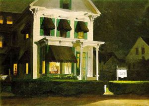 Rooms for Tourists - Edward Hopper Oil Painting