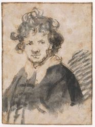 Self Portrait 21 - Rembrandt van Rijn Oil Painting