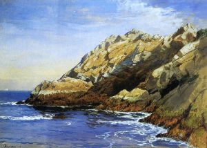 Cliffs, Dana's Island - Alfred Thompson Bricher Oil Painting