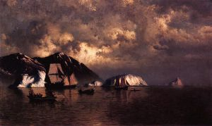 Seiners off the Coast of Labrador - William Bradford Oil Painting