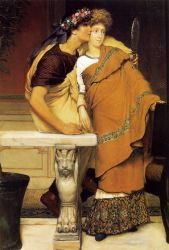The Honeymoon - Sir Lawrence Alma-Tadema oil painting