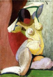 Nude - Oil Painting Reproduction On Canvas