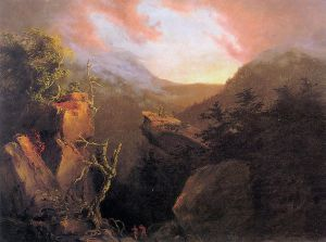 Mountain Sunrise, Catskill - Thomas Cole Oil Painting