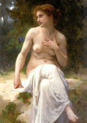 Nymphe - Guillaume Seignac Oil Painting