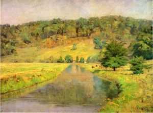 Gordon Hill - Theodore Clement Steele Oil Painting