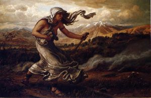The Cumean Sibyl - Elihu Vedder Oil Painting