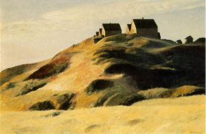 Corn Hill - Edward Hopper Oil Painting