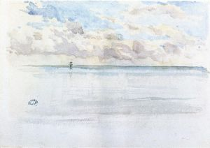 Seascape, Dieppe - James Abbott McNeill Whistler Oil Painting