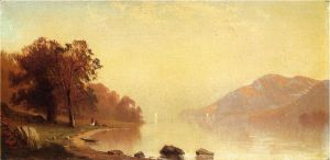 Lake George - Alfred Thompson Bricher Oil Painting