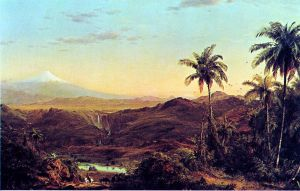 Cotopaxi - Frederic Edwin Church Oil Painting