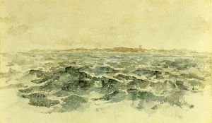 Off the Dutch Coast - James Abbott McNeill Whistler Oil Painting
