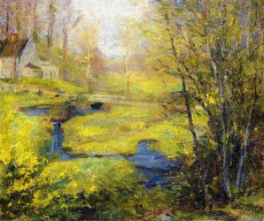 Springtime - Robert Vonnoh Oil Painting