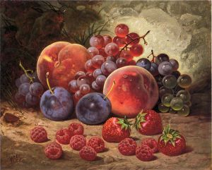 Fruits of Summer - William Mason Brown Oil Painting