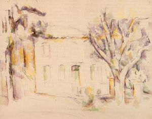 House in Provence II - Paul Cezanne Oil Painting