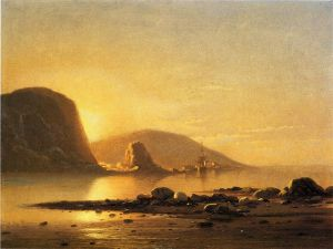 Sunrise Cove - William Bradford Oil Painting