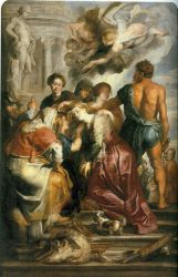Martyrdom of St Catherine - Peter Paul Rubens Oil Painting