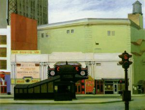 The Circle Theatre - Oil Painting Reproduction On Canvas