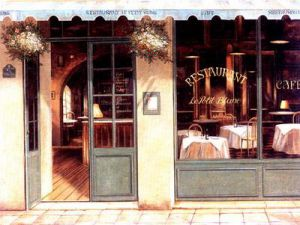 Restaurant - Oil Painting Reproduction On Canvas