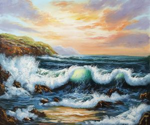 To The West - Oil Painting Reproduction On Canvas