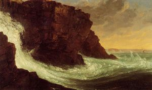 Frenchman's Bay, Mt. Desert Island - Thomas Cole Oil Painting
