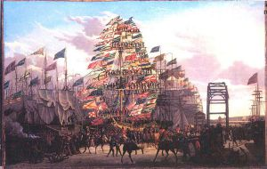 Visit of the Prince of Wales To Liverpool, 18 September, 1806 - Robert Salmon Oil Painting