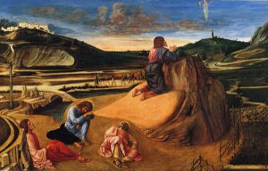 Agony in the Garden - Giovanni Bellini Oil Painting
