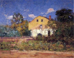 The Grist Mill - Theodore Clement Steele Oil Painting