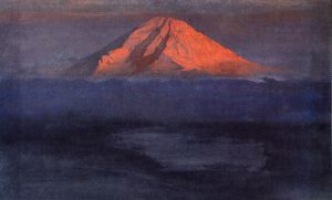 Chimborazo II - Frederic Edwin Church Oil Painting