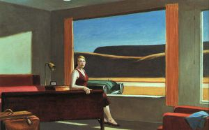 Western Motel - Edward Hopper Oil Painting