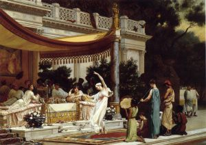 Pleasant Hours in the House of Lucullus - Gustave Boulanger Oil Painting