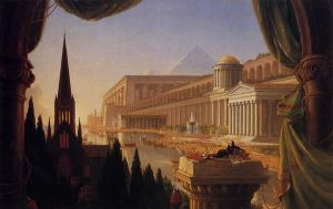 The Architect's Dream - Thomas Cole Oil Painting