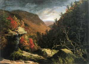 The Clove, Catskills - Thomas Cole Oil Painting