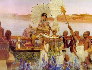 The Finding of Moses - Sir Lawrence Alma-Tadema oil painting