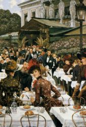The Artist's Ladies - James Tissot Oil Painting