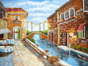 Heart of Venice III - Oil Painting Reproduction On Canvas