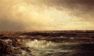 Seascape 2 - Oil Painting Reproduction On Canvas