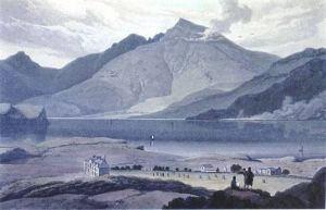 Ben More - Robert Salmon Oil Painting