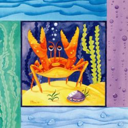 Sea Crab - Oil Painting Reproduction On Canvas