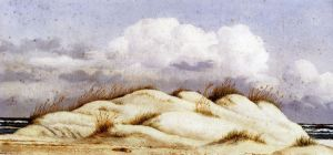 Sand Dunes and Clouds, Florida - William Aiken Walker Oil Painting