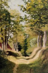 Undergrowth - Felix Vallotton Oil Painting