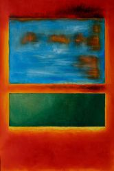 Violet, Green and Red 1951 - Mark Rothko Oil Painting
