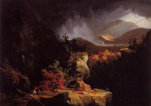 Gelyna - Thomas Cole Oil Painting