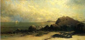 Low Tide - Alfred Thompson Bricher Oil Painting