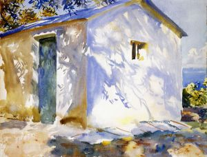 Corfu: Lights and Shadows - John Singer Sargent Oil Painting
