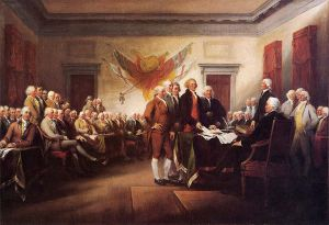 The Declaration of Independence, July 4, 1776 - John Trumbull Oil Painting