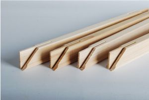 DIY Solid Wooden Stretch Bar(4 Stick a Set) for Oil Painting in different sizes with Thumbtacks
