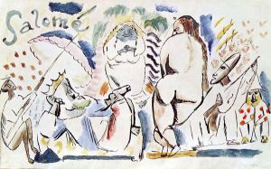 Salome II - Jules Pascin Oil Painting