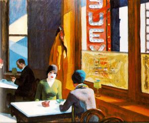 Chop Suey - Edward Hopper Oil Painting